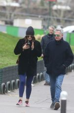 KATHARINE MCPHEE and David Foster Out in Paris 12/26/2017