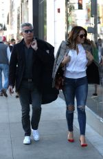 KATHARINE MCPHEE and David Foster Out Shopping in Beverly Hills 12/17/2017
