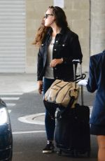 KATHERINE LANGFORD at Arrives at Airport in Sydney 12/19/2017