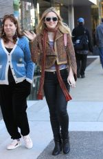 KATHRYN NEWTON Out Shopping in Beverly Hills 12/21/2017