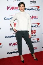 KATIE HOLMES at Z100 Jingle Ball in New York 12/08/2017