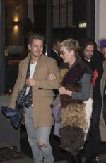 KATY PERRY Night Out in Denmark 12/25/2017