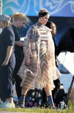 KATY PERRY on the Set of a Photoshoot in Wynwood Arts District in Miami 12/19/2017