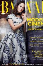 KAYA SCODELARIO in Harper's Bazaar Magazine, Malaysia December 2017