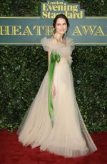 KEIRA KNIGHTLEY at London Evening Standard Theatre Awards in London 12/03/2017