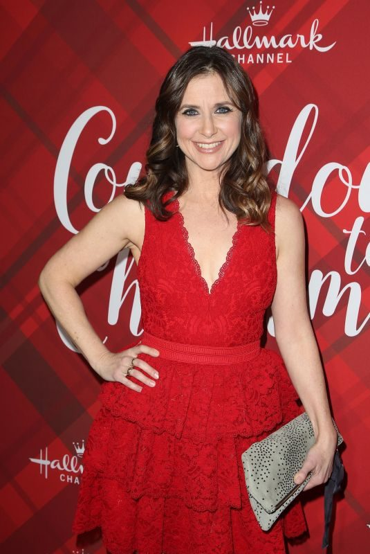 KELLIE MARTIN at Christmas at Holly Lodge Screening in Los Angeles 12/04/2017