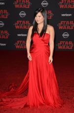 KELLY MARIE at Star Wars: The Last Jedi Premiere in Los Angeles 12/09/2017