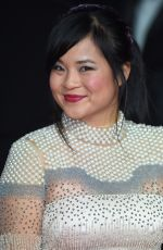 KELLY MARIE TRAN at Star Wars: The Last Jedi Premiere in London 12/12/2017