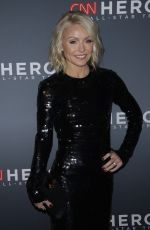 KELLY RIPA at 11th Annual CNN Heroes: An All-star Tribute in New York 12/17/2017