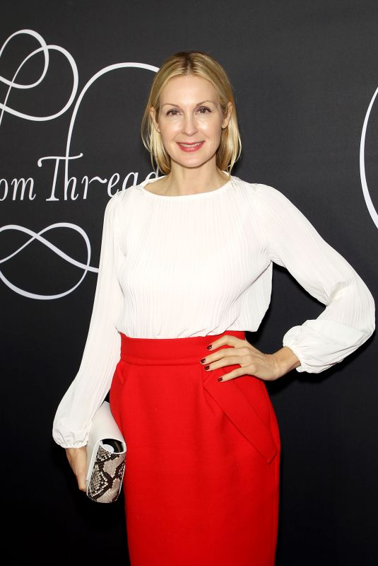 KELLY RUTHERFORD at Phantom Thread Premiere in New York 12/11/2017