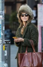 KERI RUSSELL Out and About in New York 12/21/2017