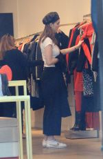 KERRIS DORSEY Out Shopping in Beverly Hills 11/29/2017