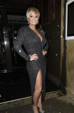 KERRY KATONA at Rosso Restaurant in Manchester 12/14/2017