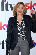 KIM CATTRALL at Sky Women in Film and TV Awards in London 11/30/2017
