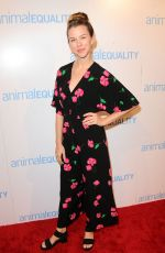KIM SHAW at Animal Equality Global Action Annual Gala in Los Angeles 12/02/2017
