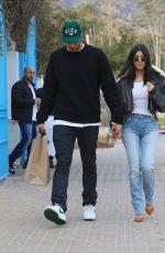 KOURTNEY KARDASHIAN and Younes Bendjima Leaves Taverna Tony in Malibu 12/23/2017