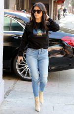 KOURTNEY KARDASHIAN in Jeans Out in Los Angeles 12/06/2017