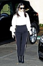 KOURTNEY KARDASHIAN Out and About in Los Angeles 12/20/2017