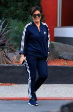 KRIS JENNER Out in Woodland Hills 12/15/2017