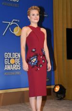 KRISTEN BELL at 75th Annual Golden Globe Awards Nomination Announcement in Beverly Hills 12/11/2017