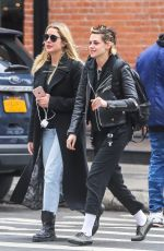 KRISTEN STEWART and ASHLEY BENSON Out and About in New York 12/12/2017