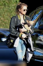 KRISTEN STEWART and STELLA MAXWELL Out for Lunch at Cecconi