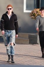 KRISTEN STEWART Out and About in Los Angeles 12/26/2017