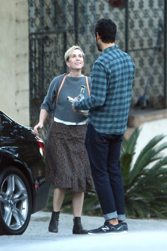 KRISTEN WIIG and Fabrizio Moretti Out in Los Angeles 12/17/2017