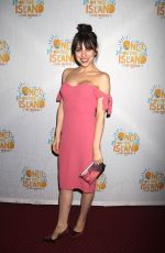 KRYSTA RODRIGUEZ at Once on This Island Broadway Openingh Night in New York 12/03/2017