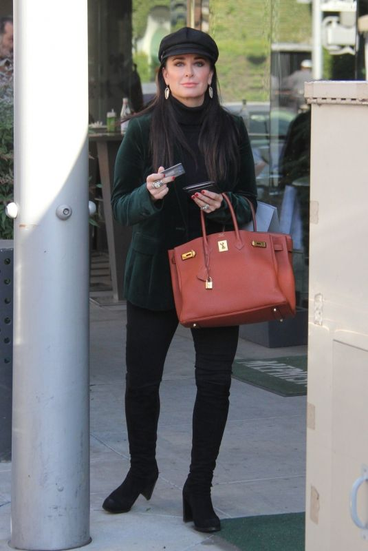 KYLIE RICHARDS Out Shopping in Beverly Hills 12/19/2017