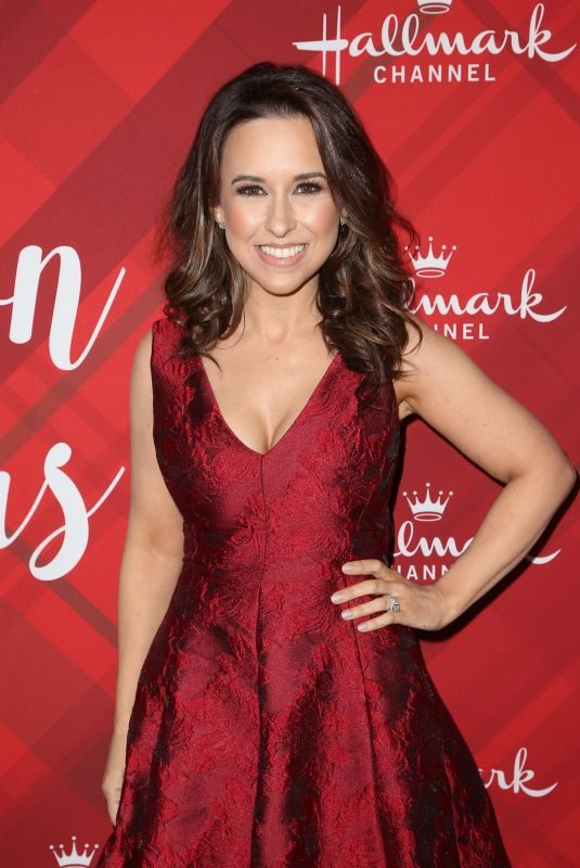 LACEY CHABERT at Christmas at Holly Lodge Screening in Los Angeles 12/04/2017