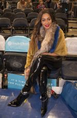 LALA ANTHONY at Madison Square Garden in New York 12/16/2017
