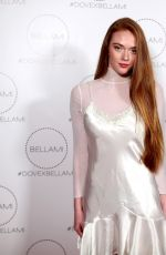 LARSEN THOMPSON at Dove x Bellami Collection Launch Party in Culver City 12/02/2017