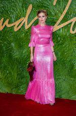 LAURA BAILEY at British Fashion Awards 2017 in London 12/04/2017