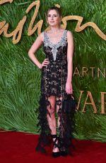 LAURA CARMICHAEL at British Fashion Awards 2017 in London 12/04/2017