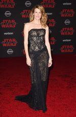 LAURA DERN at Star Wars: The Last Jedi Premiere in Los Angeles 12/09/2017