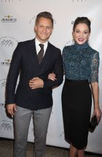 LAURA OSNES at New York Stage and Film Winter Gala at Pier 60 in New York 12/05/2017