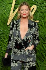 LAURA WHITMORE at British Fashion Awards 2017 in London 12/04/2017