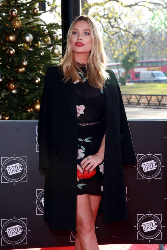 LAURA WHITMORE at Tric Awards Christmas Lunch in London 12/12/2017