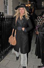 LAURA WHITMORE Leaves Venus in Fur Play in London 12/01/2017