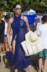 LAUREN SILVERMAN in Bikini at a Beach in Barbados 12/24/2017