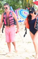 LAUREN SILVERMAN in Swimsuit on Vacation in Barbados 12/16/2017