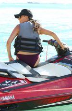 LAUREN SILVERMAN on the Jet Ski Ride in Barbados 12/20/2017