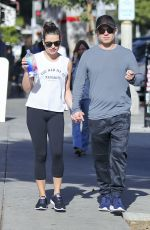 LEA MICHELE and Zandy Reich Out in Los Angeles 12/11/2017