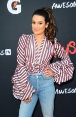 LEA MICHELE at Teen Female Athletes Benefits of Staying in Sport in Santa Monica 12/04/2017