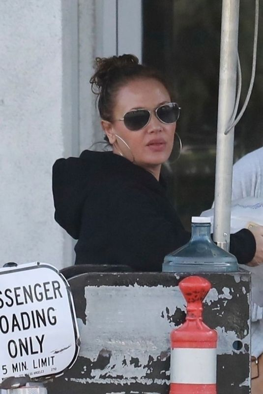 LEAH REMINI Out for Lunch in Studo City 12/30/2017