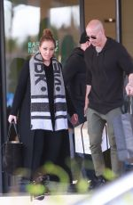 LEAH REMINI Shopping at Barneys New York in Beverly HIlls 12/23/2017
