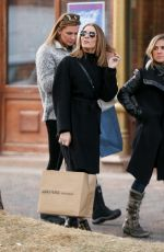 LEANN RIMES Out and About in Aspen 12/20/2017