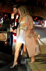 LEONA LEWIS at a Holiday Party in Beverly Hills 12/10/2017