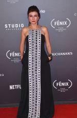 LETICIA HUIJARA at Fenix Film Awards in Mexico City 12/06/2017